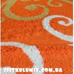 Ковер Shaggy Gold 9853 ORANGE
