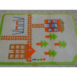 Детский ковер Fulya 8C44b-Y-GREEN