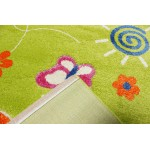 Детский ковер Fulya 8c66b-green