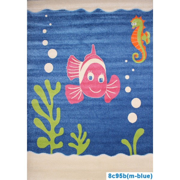 Детский ковер Fulya 8c95b(m-blue)