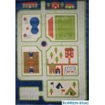 Детский ковер FULYA 8C44b blue