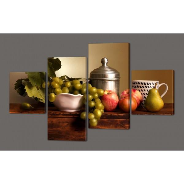 Модульная картина на кухню 116*74 см Код: 573.4к.116