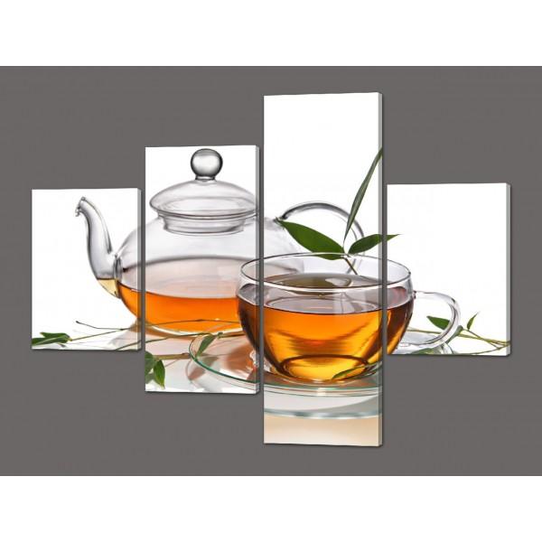 Модульная картина Чай 120*96,5 см Код: 547.4к.120