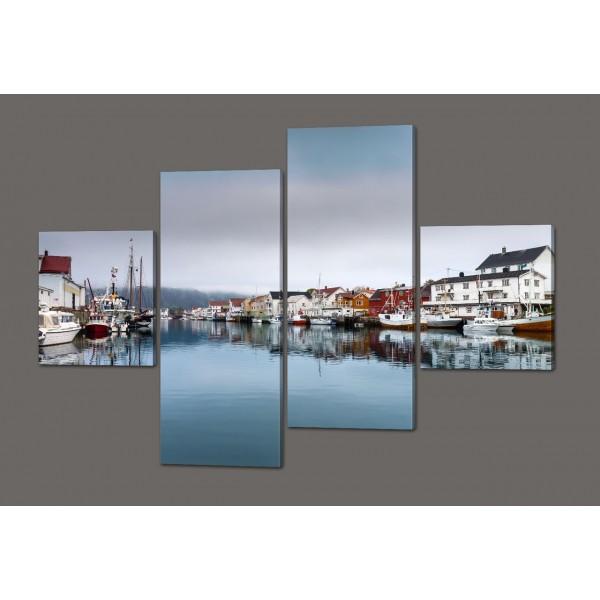 Модульная картина Красивый пейзаж 160*114 см Код: 517.4к.160
