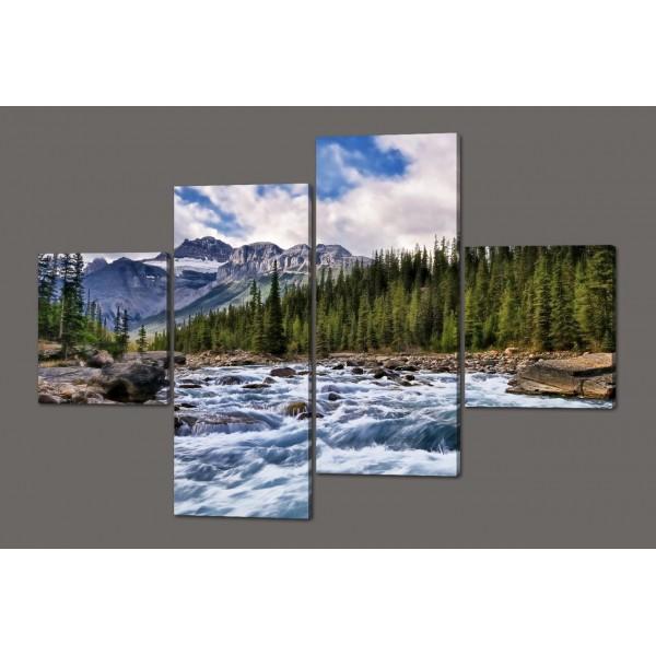 Модульная картина Природа 160*114 см Код: 436.4к.160