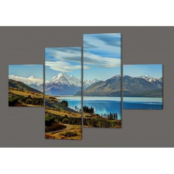 Модульная картина Горы.Природа 160*114 см Код: 263.4k.160