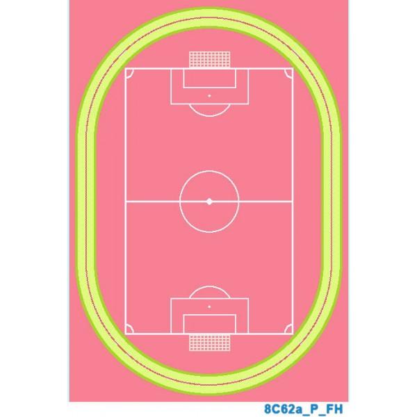 Детский ковер FULYA 8C10a-М-PINK