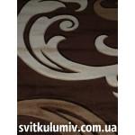 Ковер рельефный Legenda 10 brown