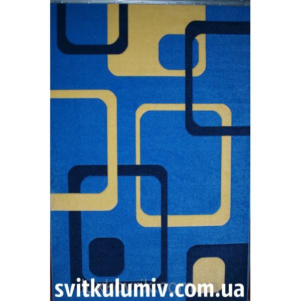 Ковер рельефный Legenda 13 blue