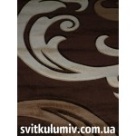 Ковер рельефный Legenda 22 brown