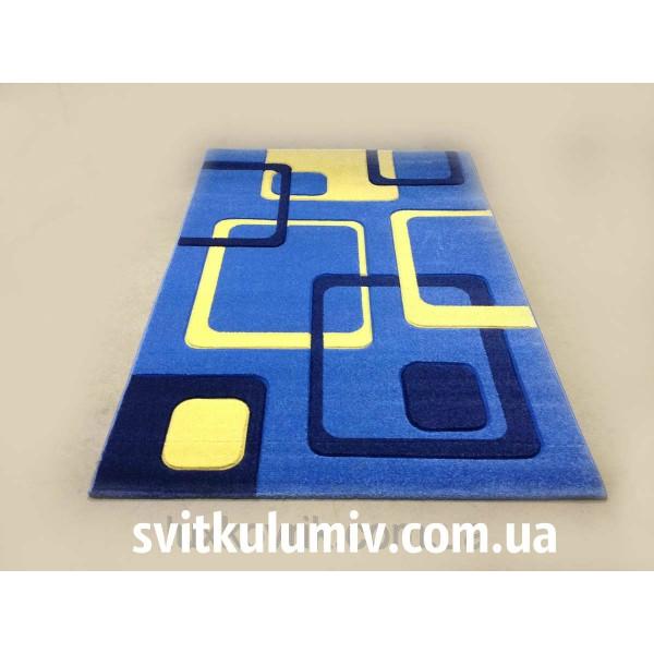 Ковер рельефный Legenda 36 blue
