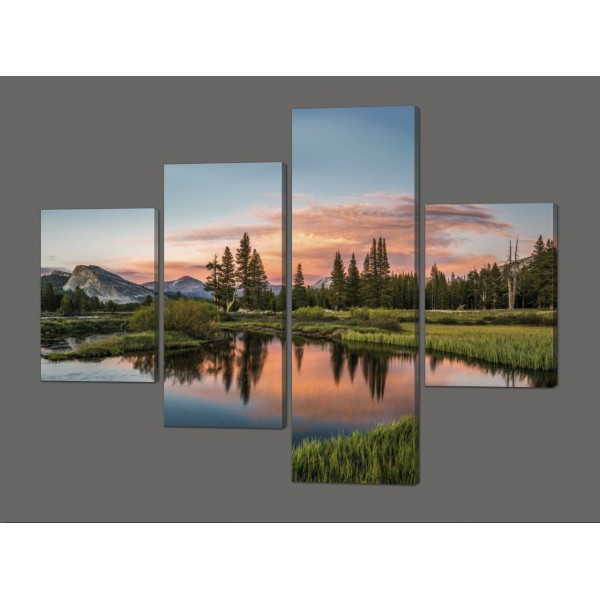 Модульная картина Природа 120*96,5 см Код: 612.4к.120