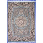 Ковер Kashan 607-LBL blue