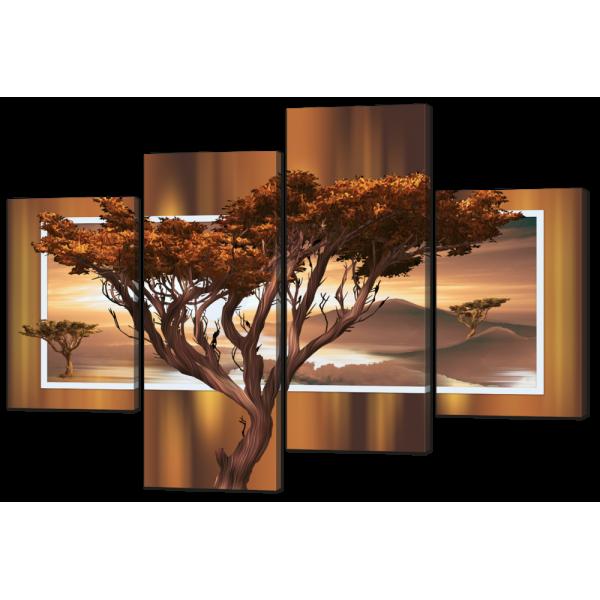 Модульная картина Дерево 126* 87,5 см Код: w6639