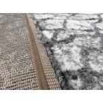 Ковер Microfiber Loft Shaggy 2793A white/light grey