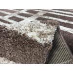 Ковер Microfiber Loft Shaggy 2818A dark beige-white