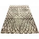 Ковер Microfiber Loft Shaggy 2945A white/dark beige
