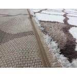 Ковер Microfiber Loft Shaggy 2967A white/dark beige
