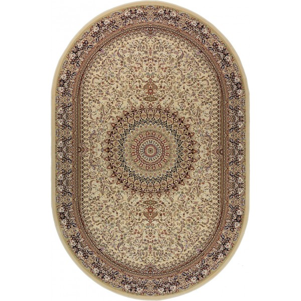 Ковер Royal Esfahan 2915H Cream Brown Oval